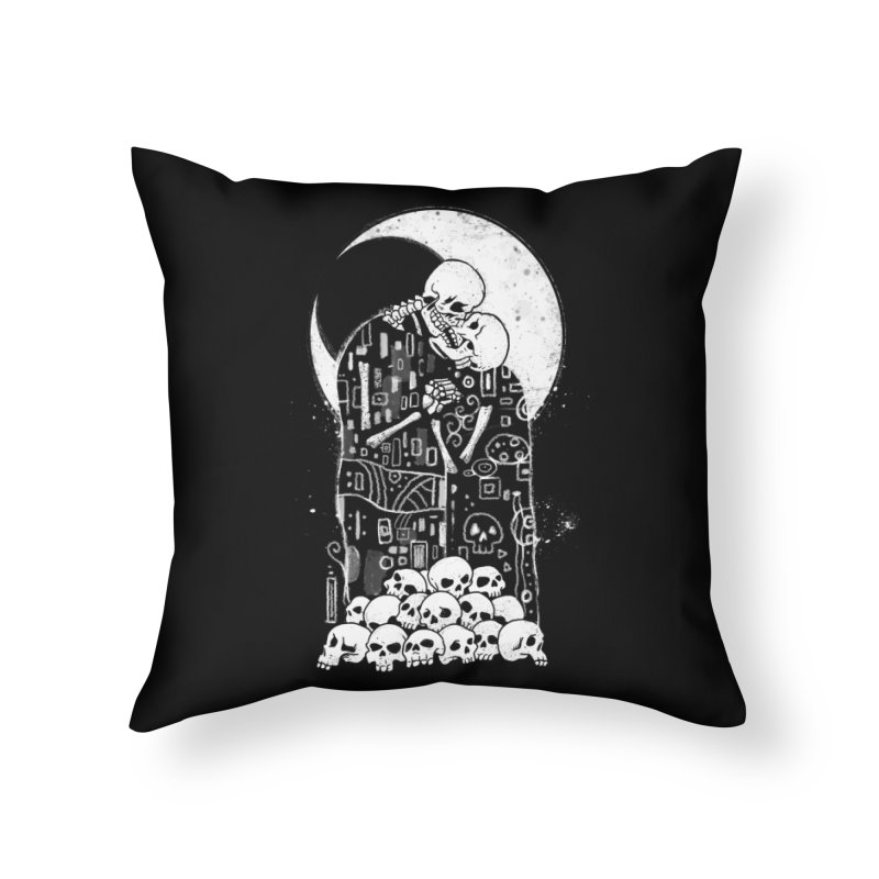 The Kiss of Death Home Throw Pillow by vincenttrinidad's Artist Shop