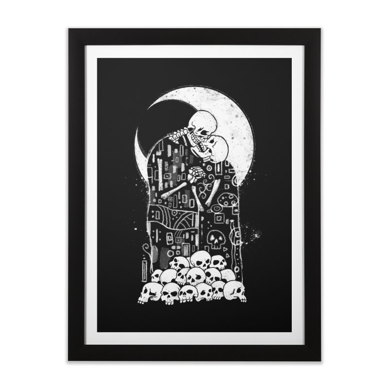 The Kiss of Death Home Framed Fine Art Print by vincenttrinidad's Artist Shop