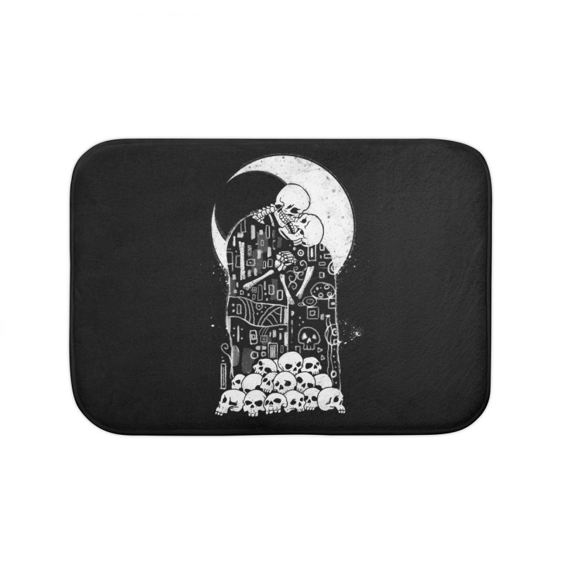The Kiss of Death Home Bath Mat by Vincent Trinidad