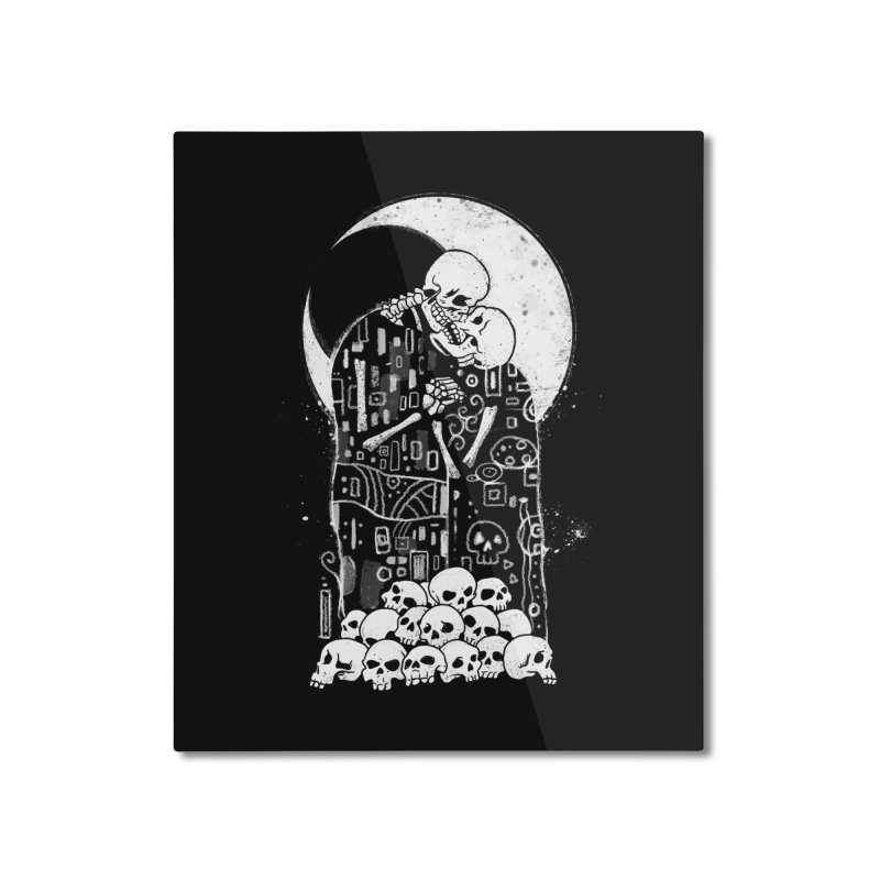 The Kiss of Death Home Mounted Aluminum Print by vincenttrinidad's Artist Shop