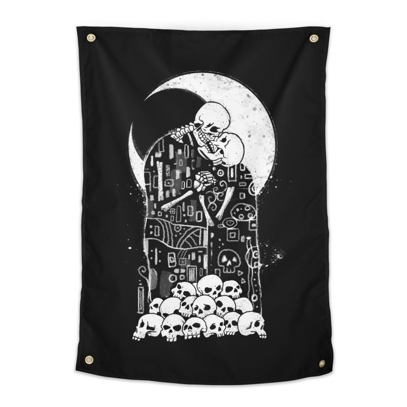 The Kiss of Death Home Tapestry by Vincent Trinidad