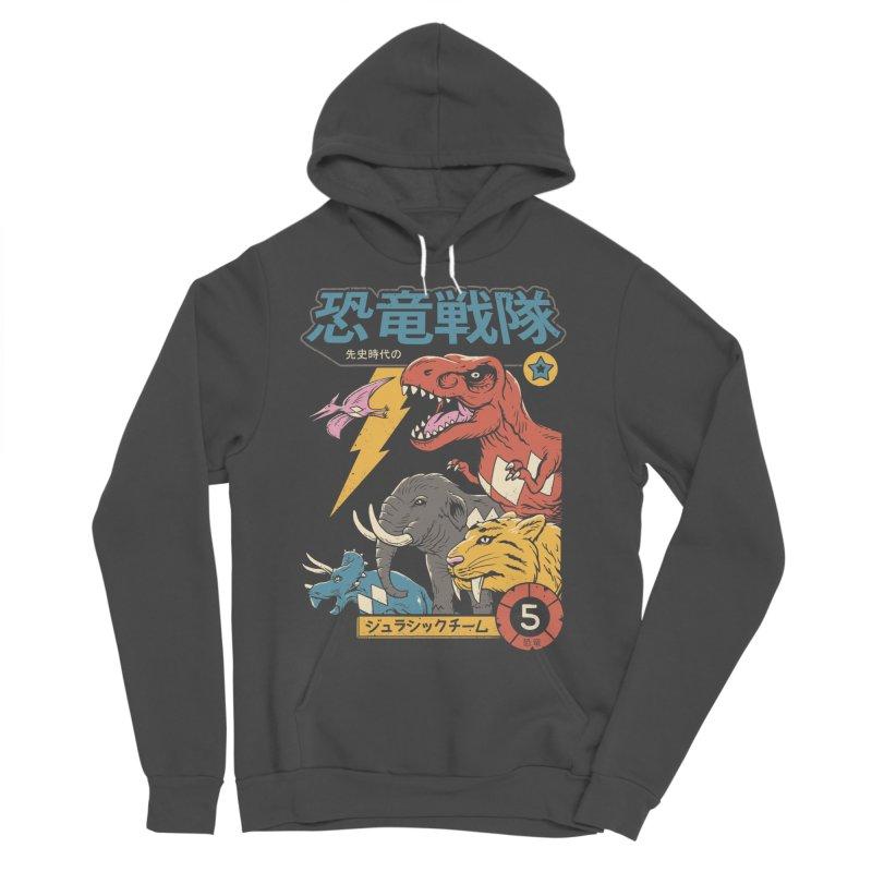 Dino Sentai Men's Sponge Fleece Pullover Hoody by vincenttrinidad's Artist Shop