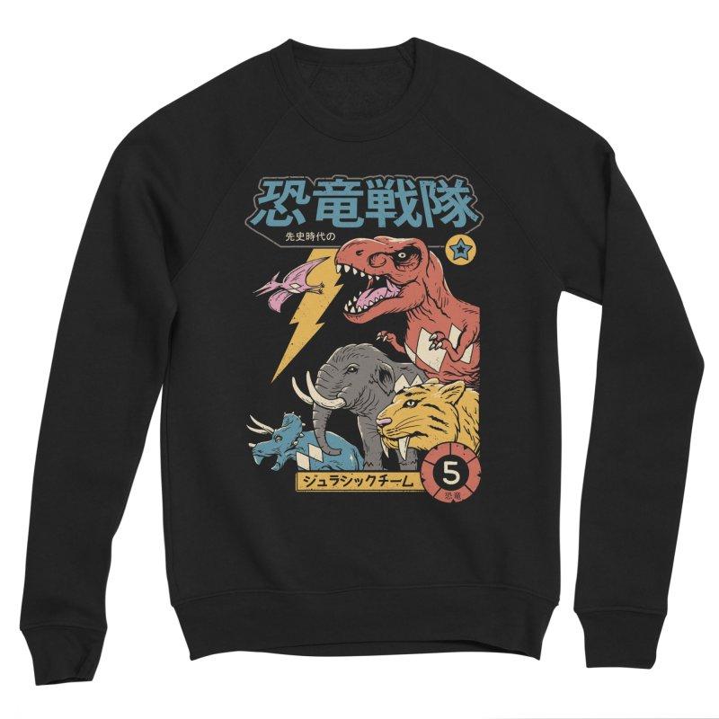 Dino Sentai Men's Sponge Fleece Sweatshirt by Vincent Trinidad