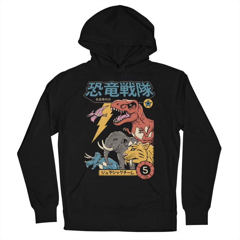 Dino Sentai Men's French Terry Pullover Hoody by Vincent Trinidad