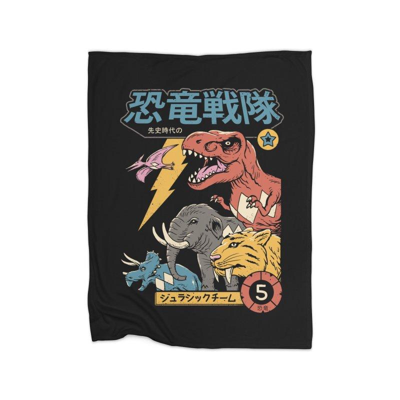 Dino Sentai Home Blanket by vincenttrinidad's Artist Shop