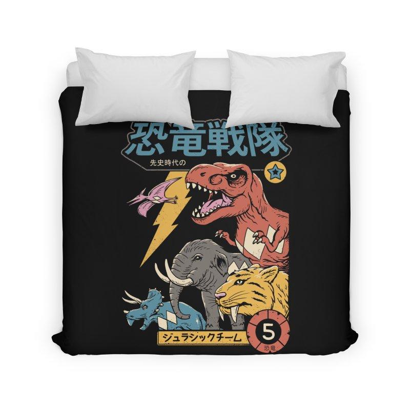 Dino Sentai Home Duvet by vincenttrinidad's Artist Shop