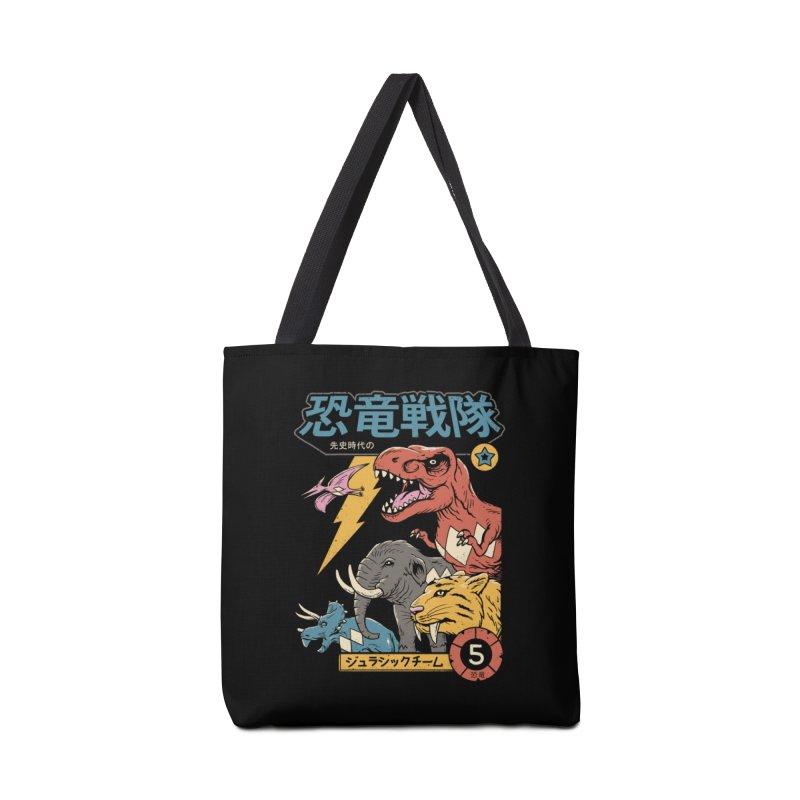 Dino Sentai Accessories Bag by Vincent Trinidad Art
