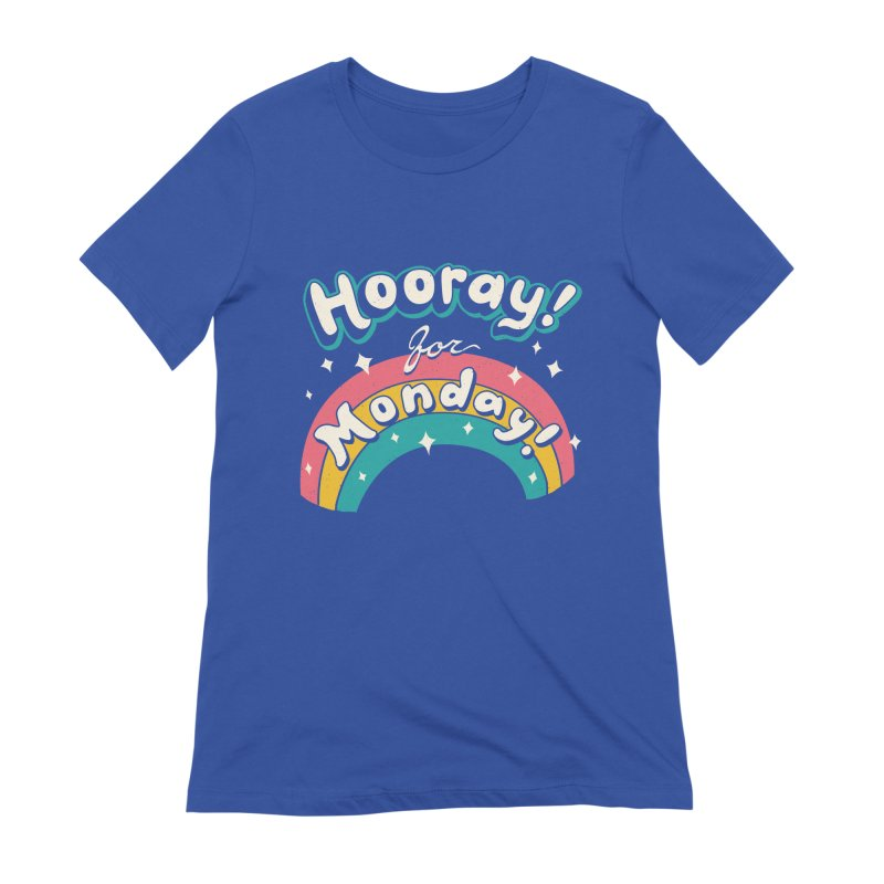 Sarcastic Mondays Women's Extra Soft T-Shirt by Vincent Trinidad
