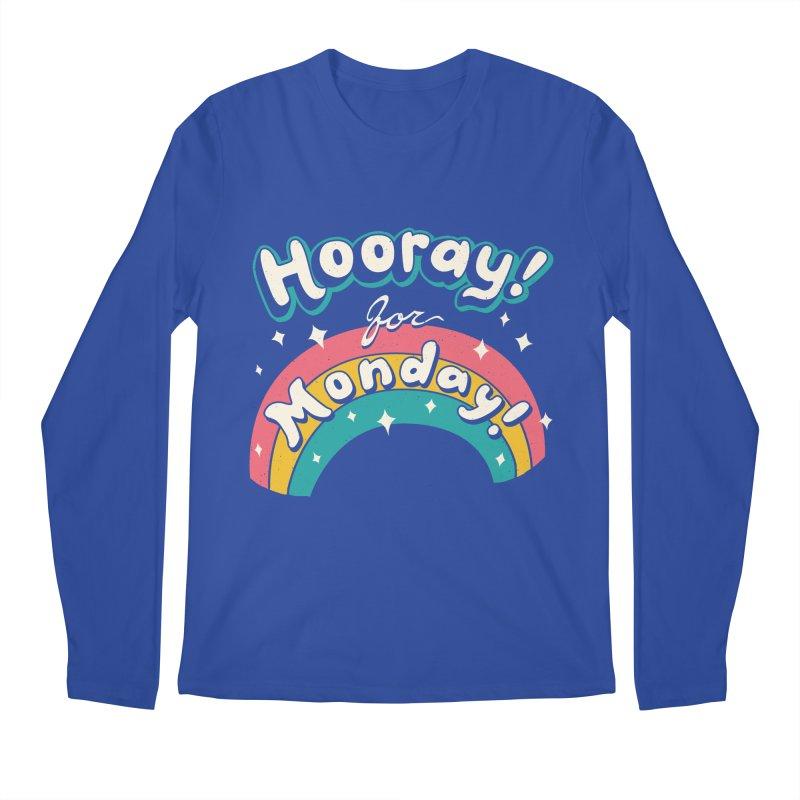 Sarcastic Mondays Men's Regular Longsleeve T-Shirt by Vincent Trinidad