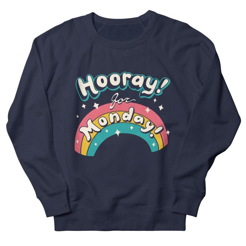 Sarcastic Mondays Men's French Terry Sweatshirt by Vincent Trinidad