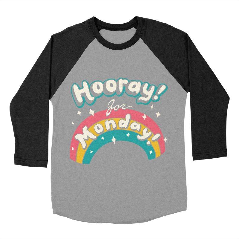 Sarcastic Mondays Men's Baseball Triblend Longsleeve T-Shirt by Vincent Trinidad
