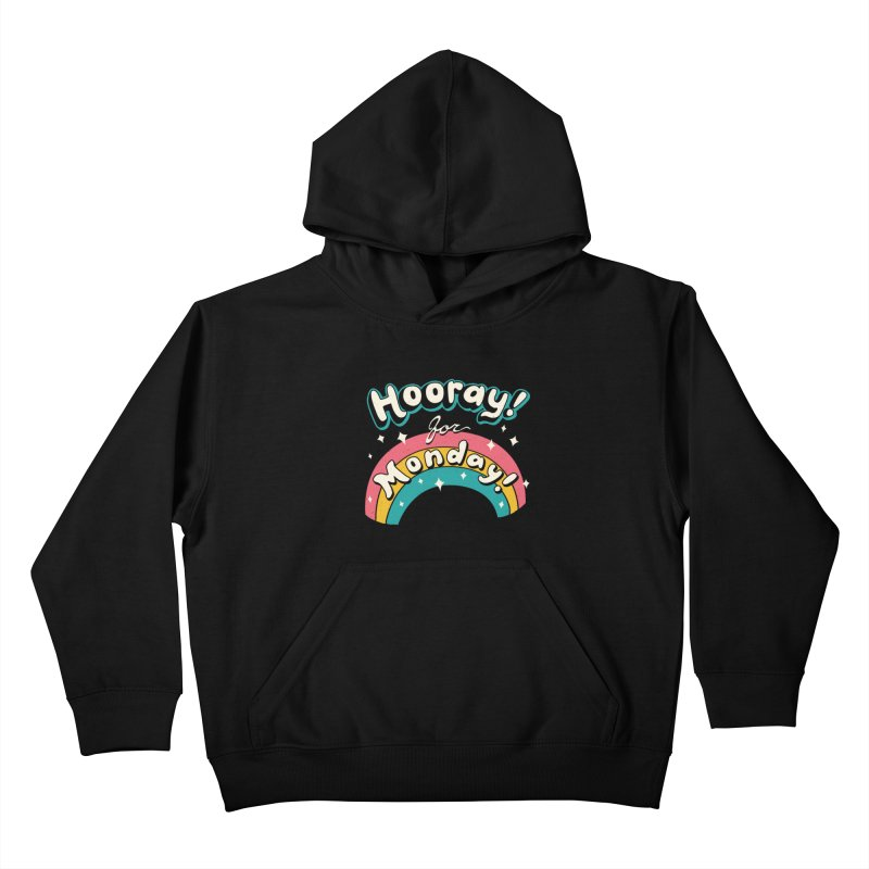 Sarcastic Mondays Kids Pullover Hoody by Vincent Trinidad