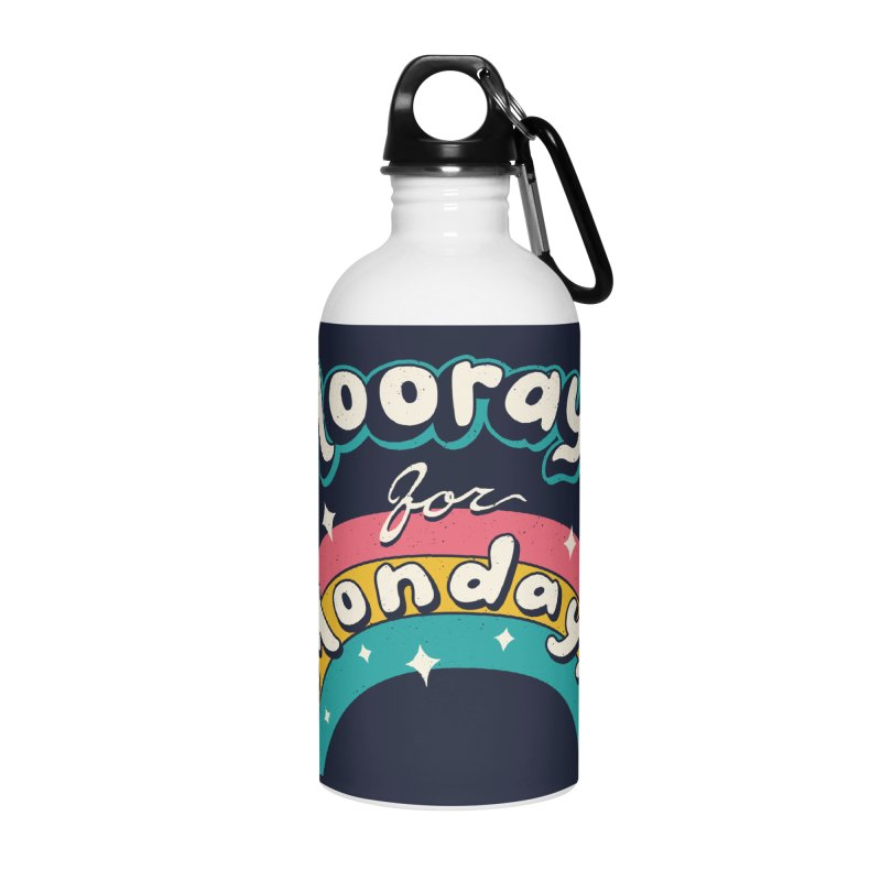 Sarcastic Mondays Accessories Water Bottle by Vincent Trinidad