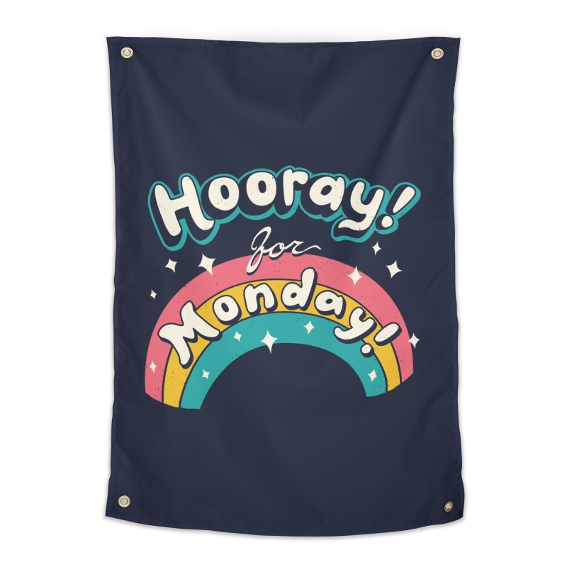 Sarcastic Mondays Home Tapestry by Vincent Trinidad