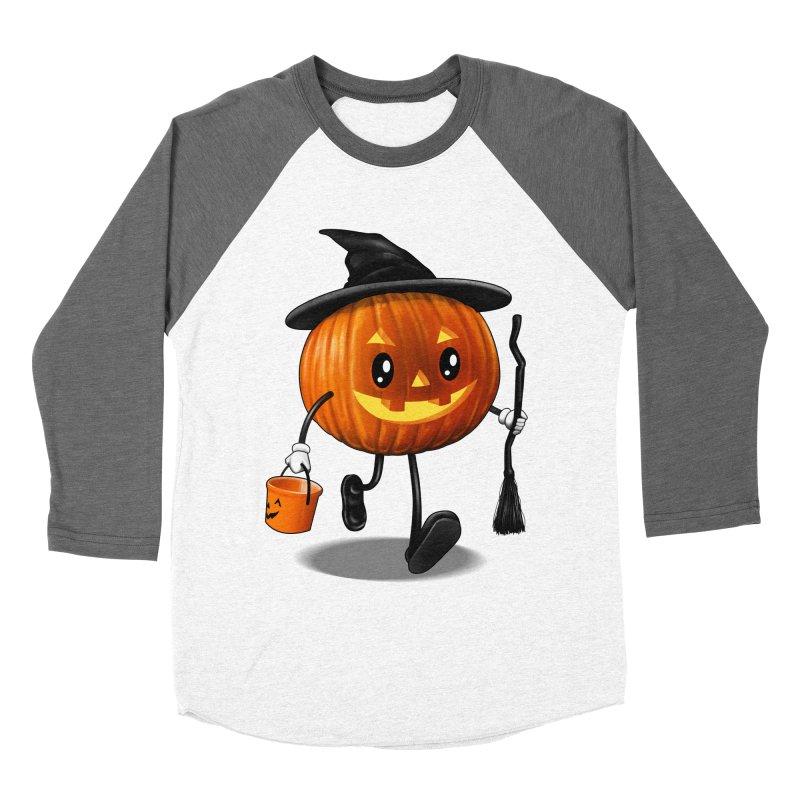 Jack o Treat Women's Baseball Triblend T-Shirt by vincenttrinidad's Artist Shop