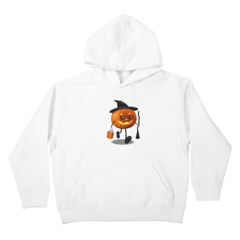 Jack o Treat Kids Pullover Hoody by vincenttrinidad's Artist Shop