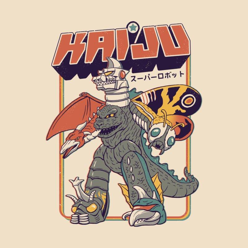 Super Kaiju Robot Men's T-Shirt by Vincent Trinidad Art