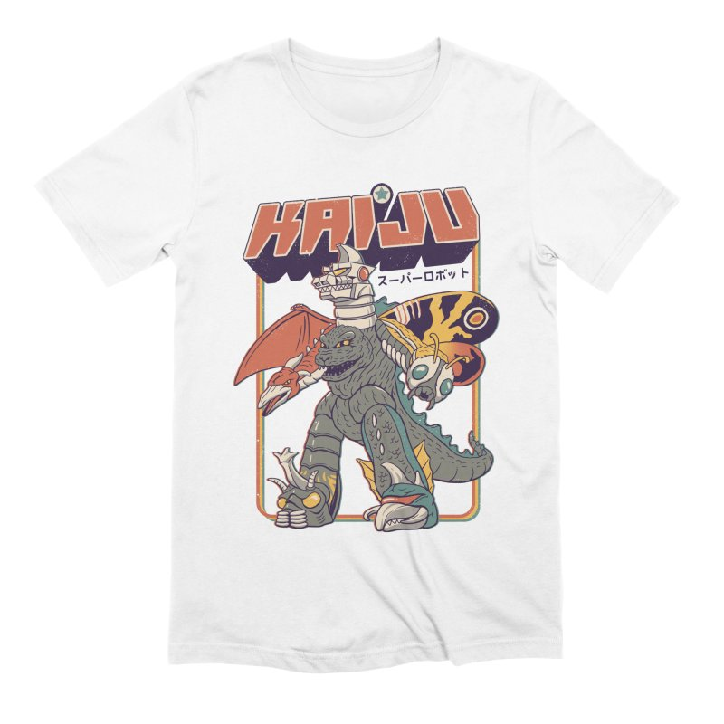 Super Kaiju Robot Men's Extra Soft T-Shirt by Vincent Trinidad