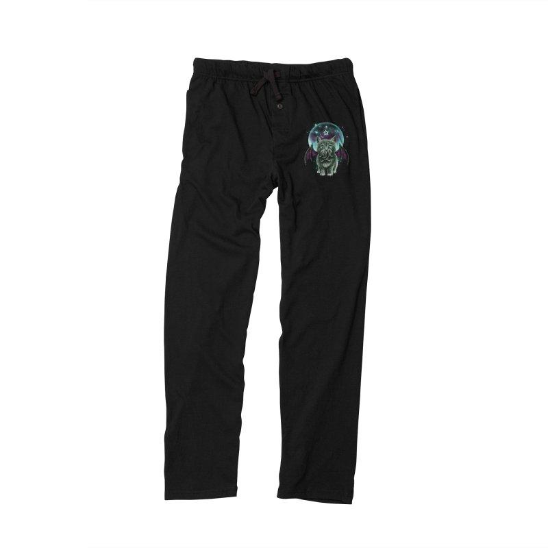 Cosmic Purrrcraft Women's Lounge Pants by vincenttrinidad's Artist Shop