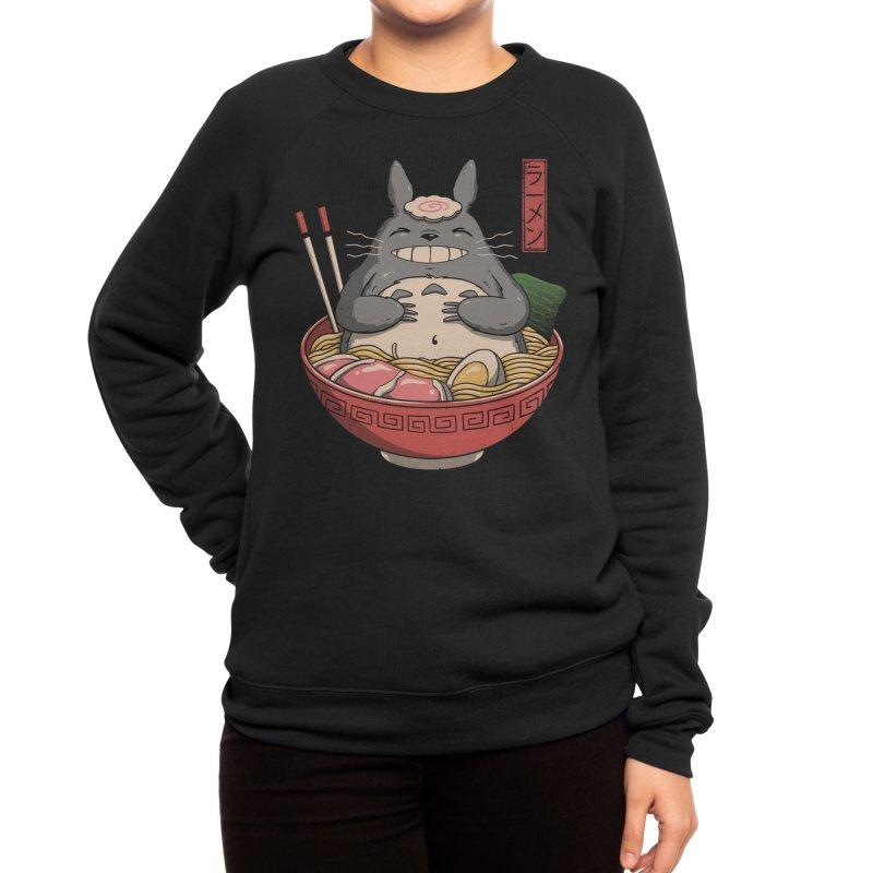 Neighbor's Ramen Women's Sweatshirt by Vincent Trinidad Art