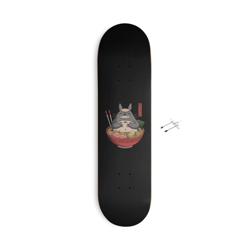 Neighbor's Ramen Accessories Skateboard by Vincent Trinidad Art