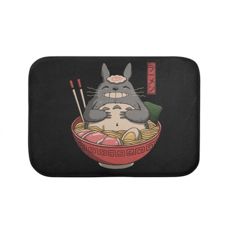 Neighbor'r Ramen Home Bath Mat by Vincent Trinidad