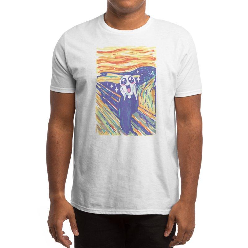 Kawaii Scream Men's T-Shirt by Vincent Trinidad Art