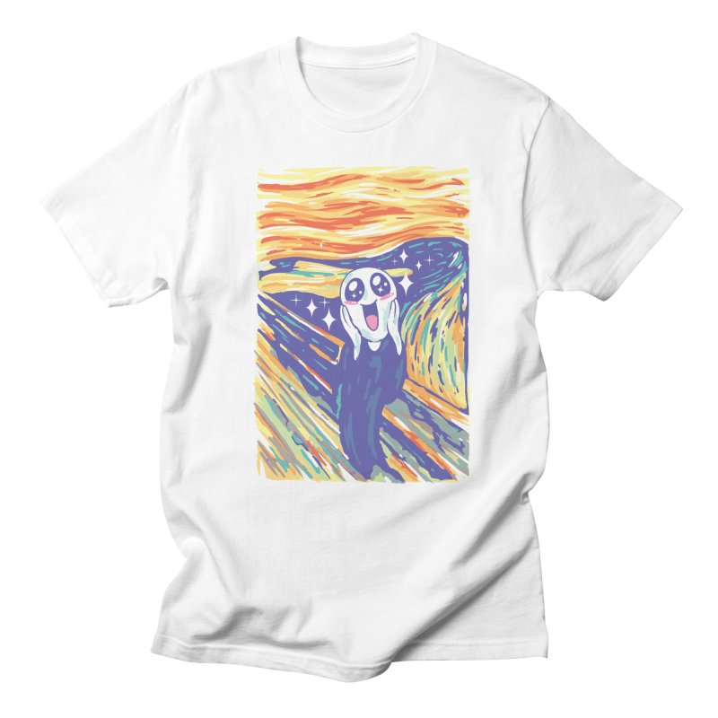 Kawaii Scream Men's Regular T-Shirt by Vincent Trinidad