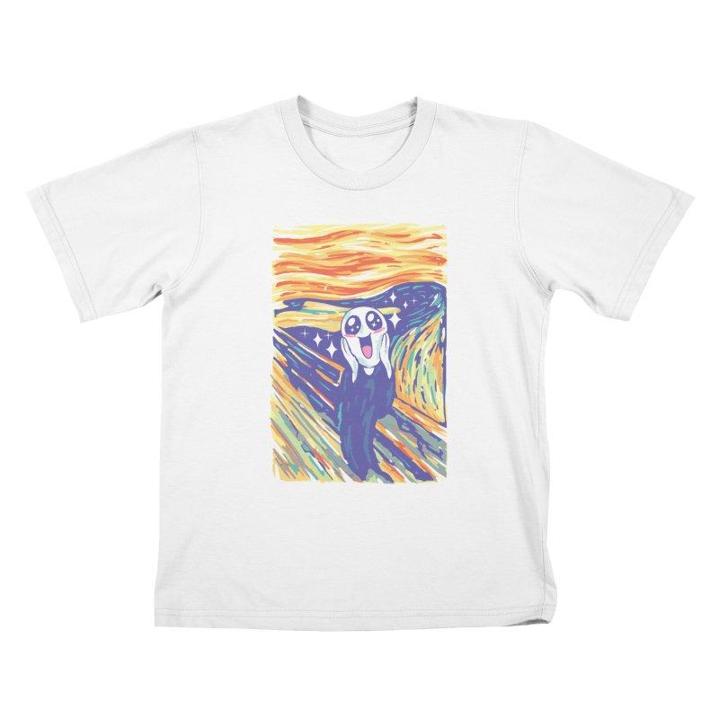 Kawaii Scream Kids T-Shirt by Vincent Trinidad