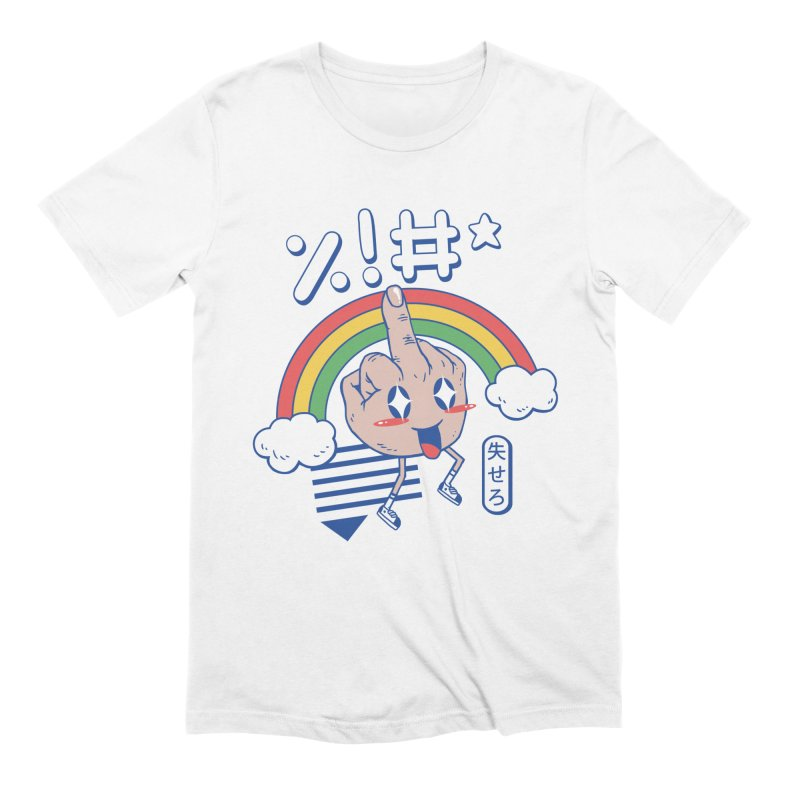 Kawaii as F*ck! in Men's Extra Soft T-Shirt White by Vincent Trinidad Art