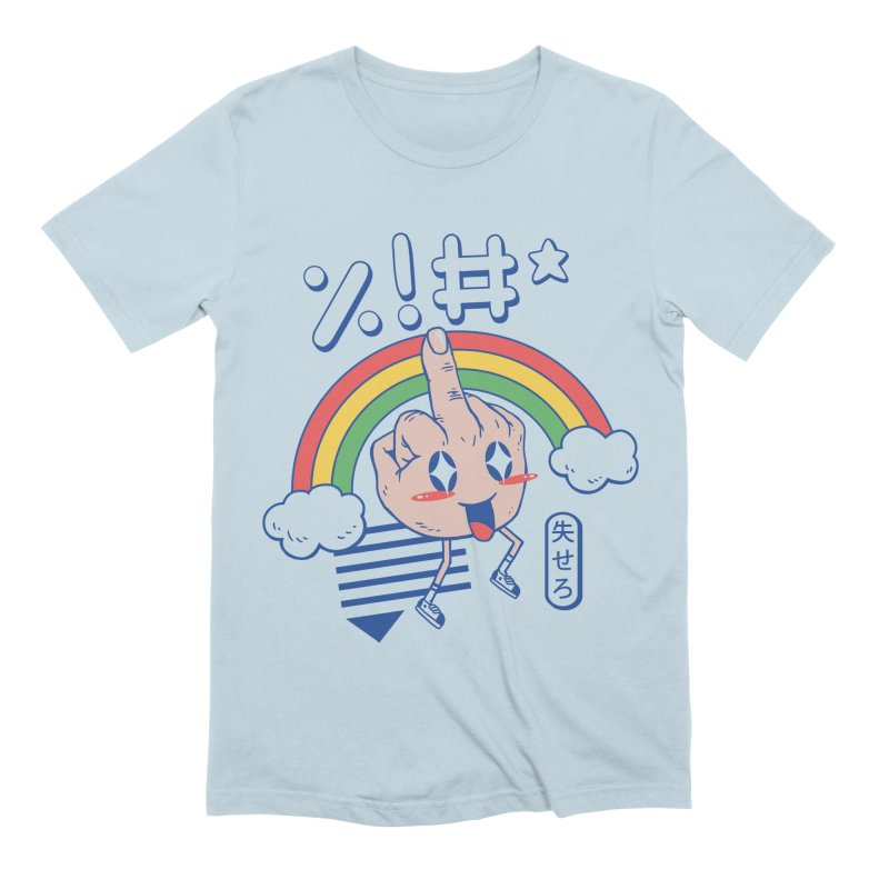 Kawaii as F*ck! Men's Extra Soft T-Shirt by Vincent Trinidad Art