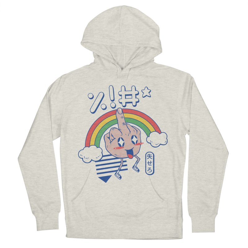 Kawaii as F*ck! Women's French Terry Pullover Hoody by Vincent Trinidad