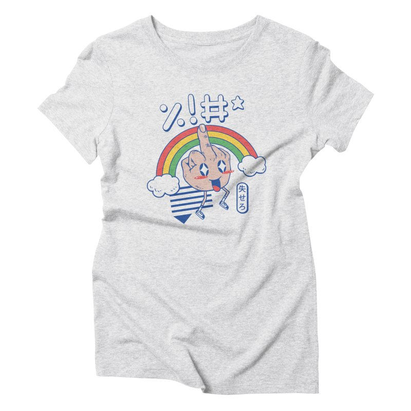 Kawaii as F*ck! Women's Triblend T-Shirt by Vincent Trinidad