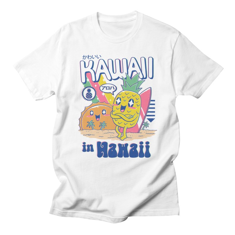 Kawaii in Hawaii Women's Regular Unisex T-Shirt by Vincent Trinidad
