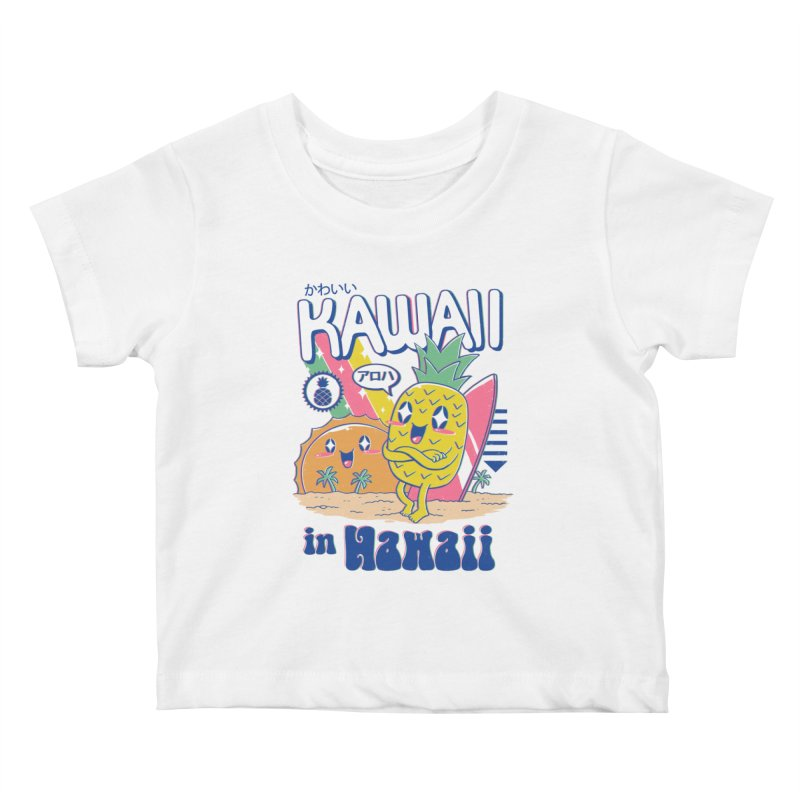 Kawaii in Hawaii Kids Baby T-Shirt by Vincent Trinidad