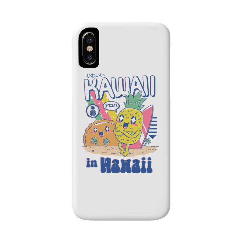 Kawaii in Hawaii Accessories Phone Case by Vincent Trinidad