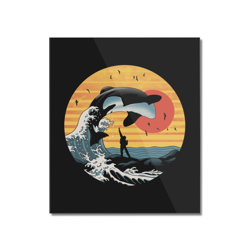 The Great Killer Whale Home Mounted Acrylic Print by Vincent Trinidad