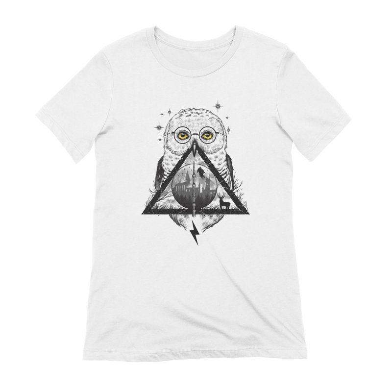 Owls and Wizardry Women's Extra Soft T-Shirt by Vincent Trinidad Art