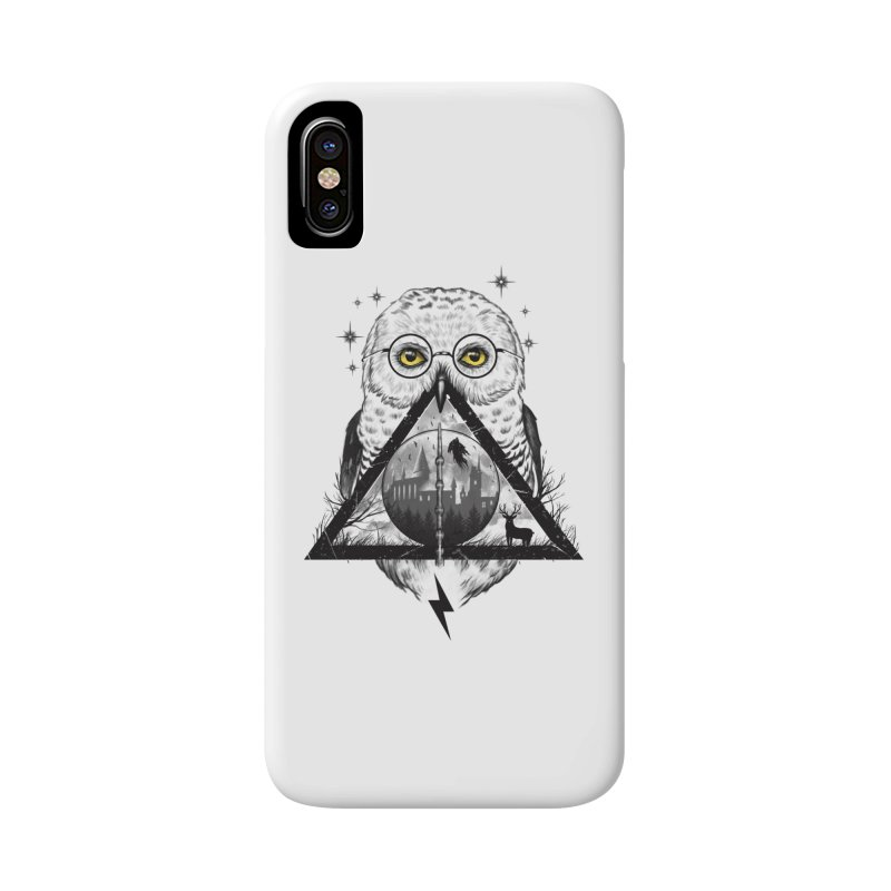 Owls and Wizardry Accessories Phone Case by Vincent Trinidad