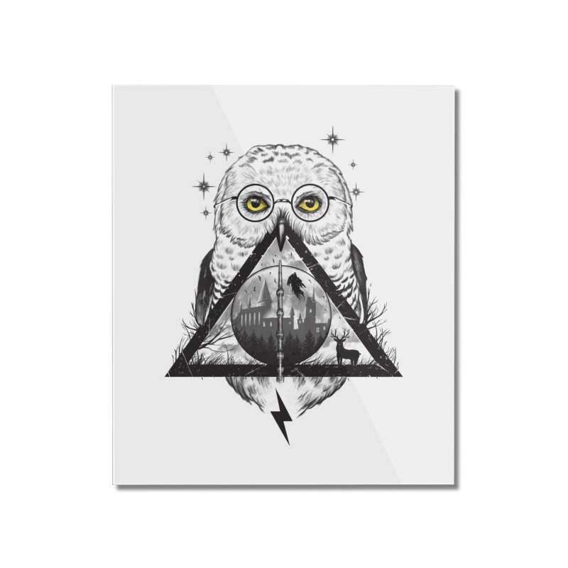 Owls and Wizardry Home Mounted Acrylic Print by Vincent Trinidad