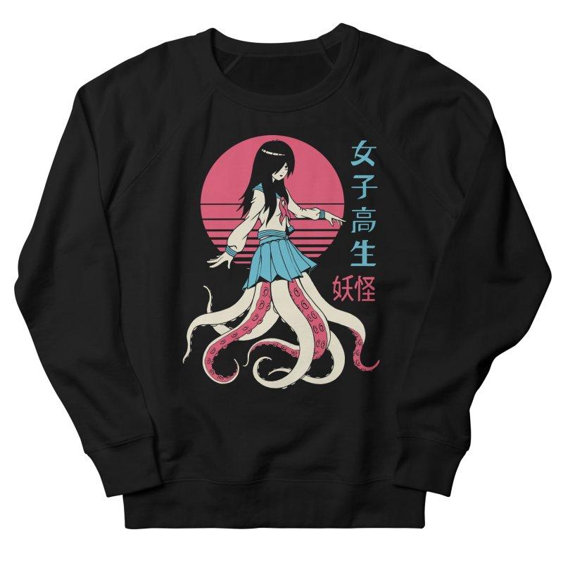 Yokai School Girl Women's French Terry Sweatshirt by Vincent Trinidad