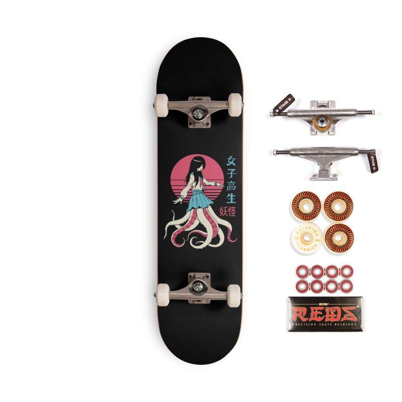 Yokai School Girl Accessories Skateboard by Vincent Trinidad Art