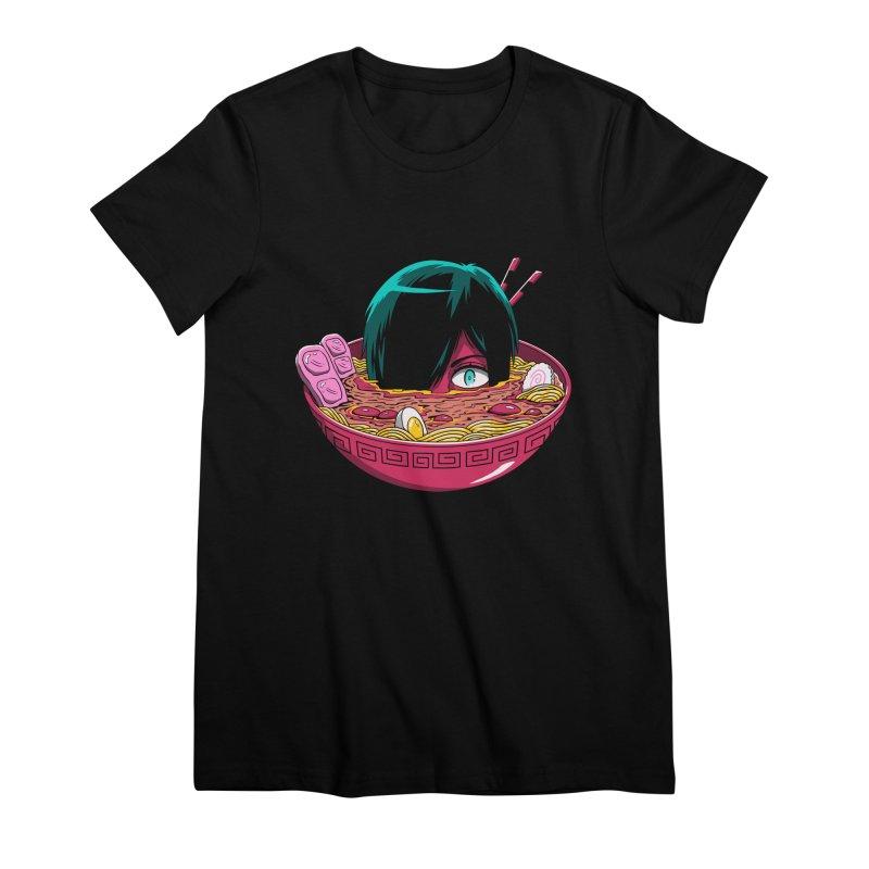 Ramen Goryo Women's Premium T-Shirt by Vincent Trinidad