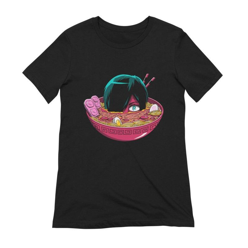 Ramen Goryo Women's Extra Soft T-Shirt by Vincent Trinidad Art