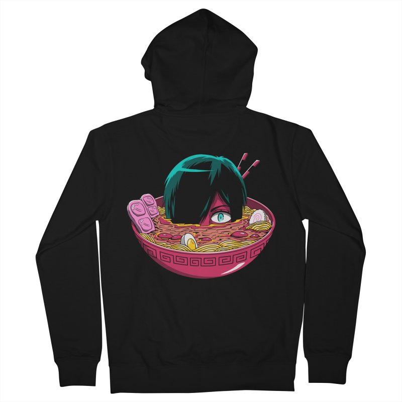 Ramen Goryo Men's French Terry Zip-Up Hoody by Vincent Trinidad