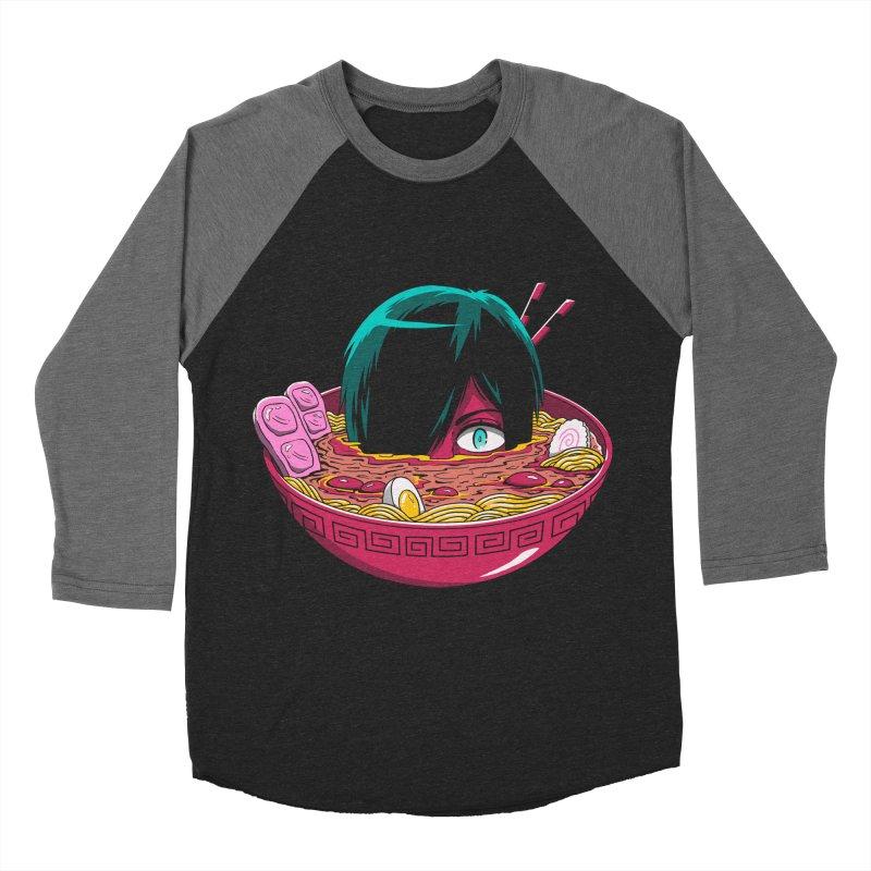 Ramen Goryo Women's Baseball Triblend Longsleeve T-Shirt by Vincent Trinidad
