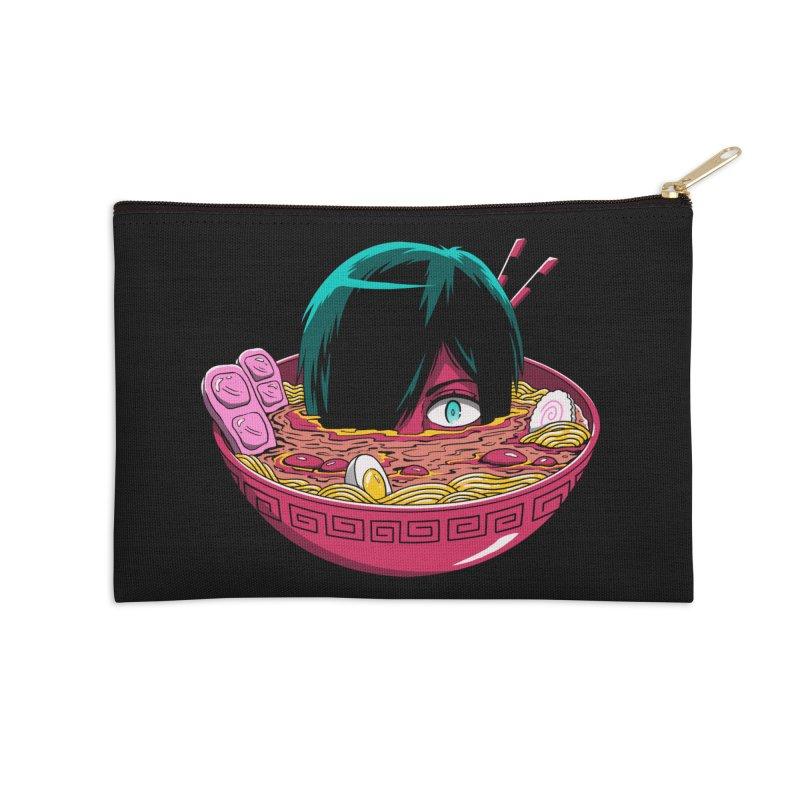 Ramen Goryo Accessories Zip Pouch by Vincent Trinidad