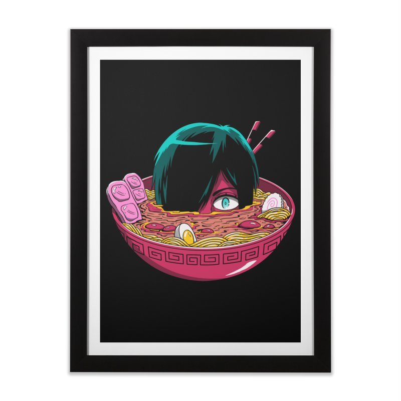 Ramen Goryo Home Framed Fine Art Print by Vincent Trinidad