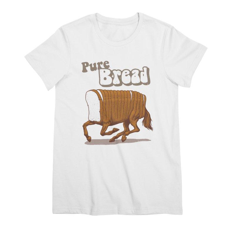 Pure Bread Women's Premium T-Shirt by Vincent Trinidad