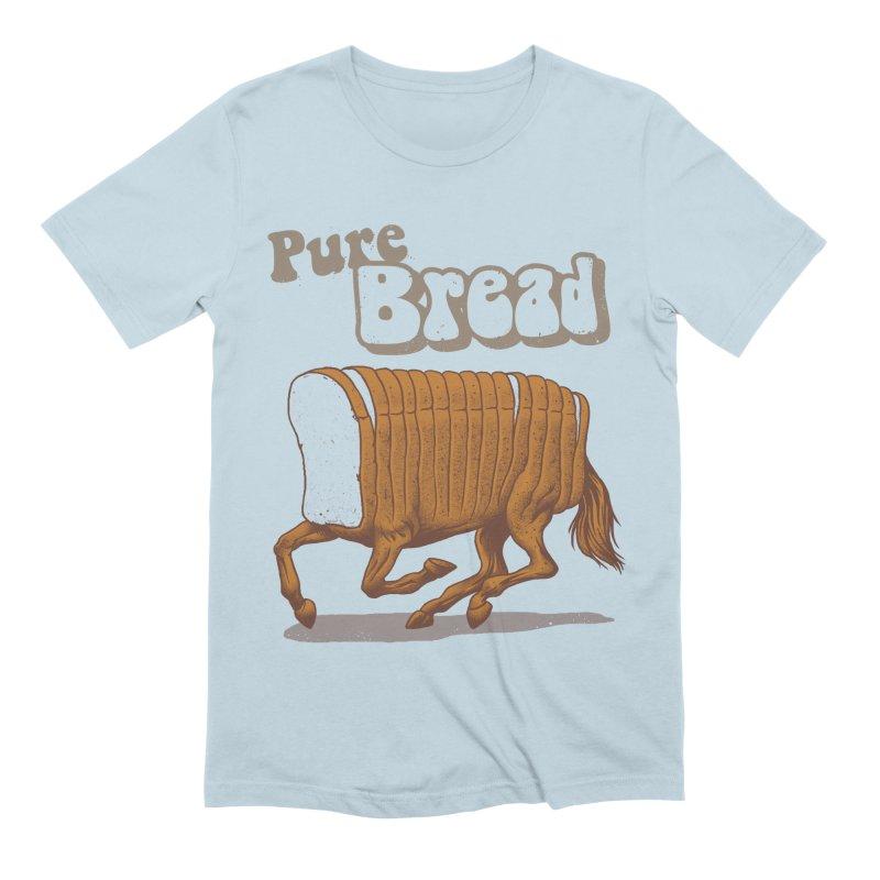 Pure Bread Men's Extra Soft T-Shirt by Vincent Trinidad Art